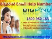 1-800-980-183| Bigpond Email Help Number