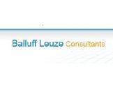 --Balluff-Leuze Consultant