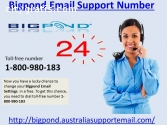 {Bigpond Email Support Number 1800980183