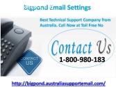 Bigpond Email Settings 1800980183