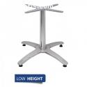 Bolero Aluminium Coffee Height Table Bas