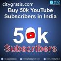 buy 50k youtube subscribers in india