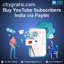buy youtube subscribers india via paytm