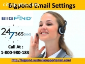 Call Bigpond Email Settings 1800980183
