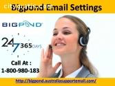 Call Bigpond Email Settings 1800980183