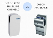 Dyson Air Hand Dryer Vs Veltia Tri-Blade