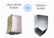 Dyson V blade vs Velo Veltia Fusion