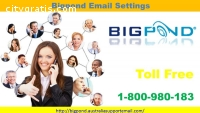 Bigpond  Email Settings | 1800-980-183