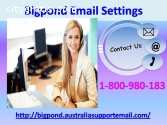 Get Bigpond Email Settings 1800980183