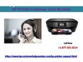 HP Printer customer care number +1 877 3