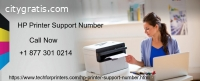 HP Printers Support Number+1 877 301 021