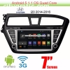 Hyundai i20 upgrade Android Car GPS Radi