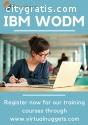 IBM WODM Online Training