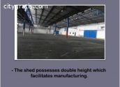 Industrial facilities (shed) for sale.