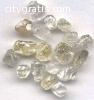 natural rough diamonds, polished diamond