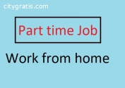 Part time online work at home job