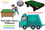 Pool table removals melbourne