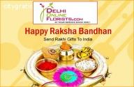 Sending Rakhi with Sweets to Delhi