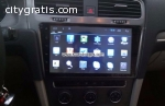 Volkswagen VW Golf 7 Car radio GPS andro