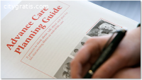 What does advance care planning mean?
