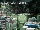 Wholesale used garment ,exportation