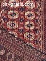 .. Antique Turkmen Rugs for Sale