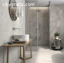 .. Bathroom Floor And Wall Tiles