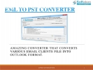 EML to PST Converter Tool