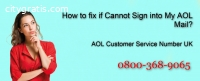 How to fix if cannot sign into my AOL ma