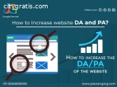 How to Increase website DA and PA?