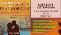 Love spell caster call +27795742484 i c