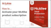McAfee Activation Code! What is it?