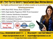 No.1 Dissertation Writing Services UK|10