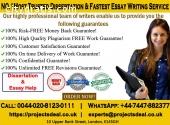 No.1 Dissertation Writing Services UK|10