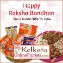 Sending Rakhi with Sweets to Kolkata