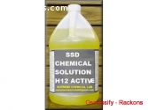 SSD chemical solution for cleaning black