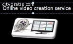 Use online video creation service a