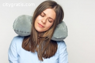 Airplane Inflatable Travel Pillow