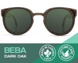 Beba Dark Oak Sunglasses with Polarized