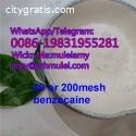 Benzocaine crysal 200 mesh benzocaine