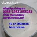 Benzocaine supplier benzocaine factory