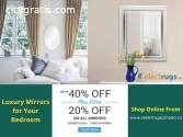 Buy Premium Wall-Counted Mirrors on Sale