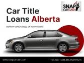 Car Title Loans Alberta to borrow money
