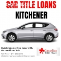Car Title Loans Kitchener with No credit