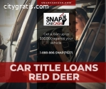 Car Title Loans Red Deer to get fast cas