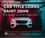 Car Title Loans Saint John to borrow cas