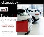 Car Title Loans Toronto provides easy mo