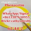 CAS 62-44-2 Phenacetin Painkiller