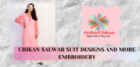 Chikan Suit Latest Design -  Lucknowi Ch