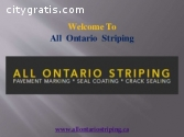 Crack Sealing Ontario | All Ontario Stri